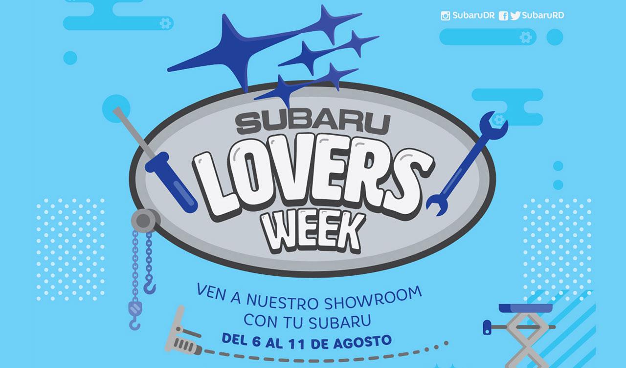 Subaru Lovers Week
